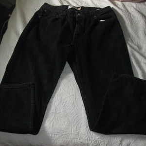 LEVI'S 550 BLACK RELAXED FIT W36x28